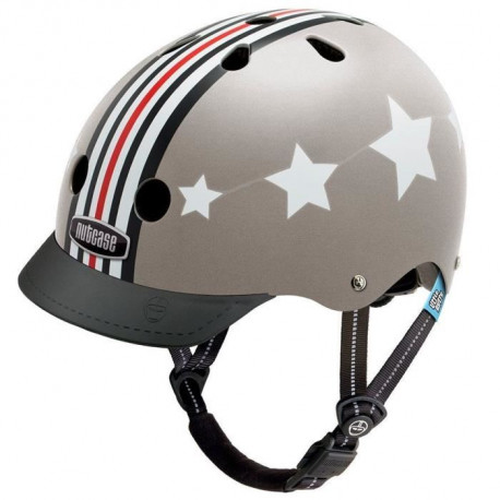 NUTCASE Casque de Protection Petit Nutty Xs Silver Fly