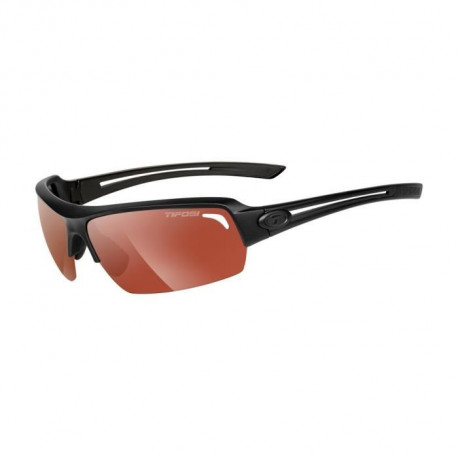 TIFOSI Lunettes Just Noir Mat Photochromique High Speed Red Fototec