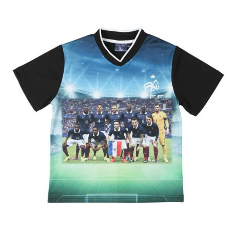 FFF Tee Shirt Football Equipe de France Enfant