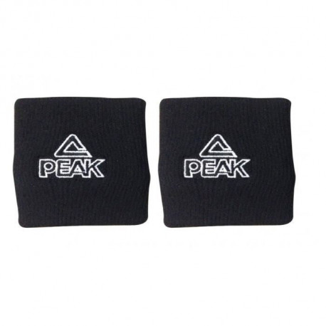PEAK Lot de 2 Poignets - Noir