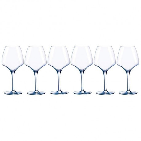 CHEF ET SOMMELIER Lot de 6 verres a vin OPEN'UP - 32 cl