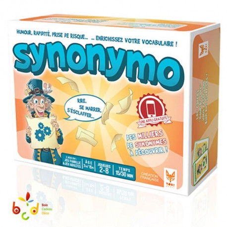TOPI GAMES Synonymo - Jeu d'Apprentissage