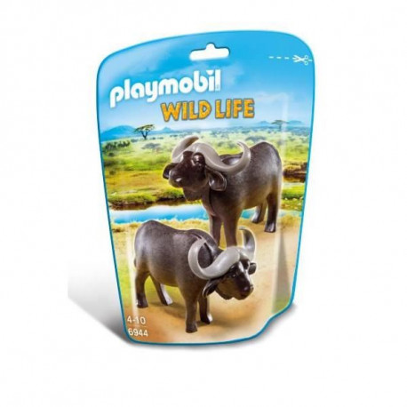 PLAYMOBIL 6944 Buffles de la Savane