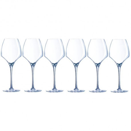 CHEF ET SOMMELIER  Lot de 6 Verres a vin UNIVERSAL OPEN UP 40 cl