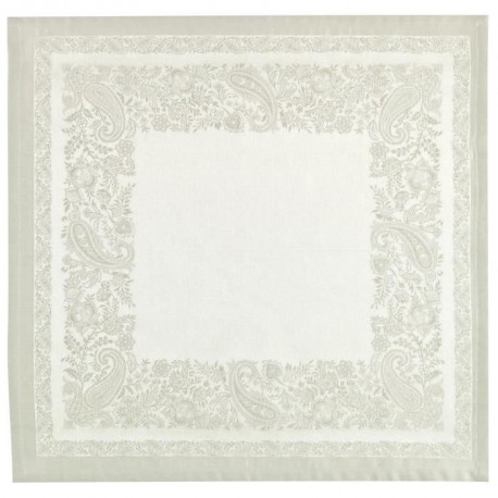 VENT DU SUD Lot de 6 Serviettes De Table Jacquard - Trento Lin 47x47cm