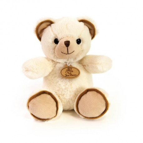 DECAR2 Peluche Ours Beige - 20 cm