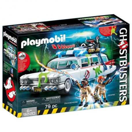 PLAYMOBIL 9220 - Ghostbusters Edition Limitée - Voiture Ecto-1