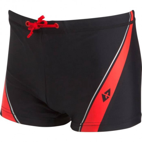 ATHLI-TECH Slip Bain Piscine Fille Biggoron - Noir Rouge