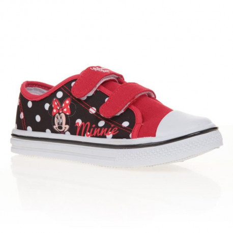 MINNIE Baskets Tissu Rouge Enfant Fille