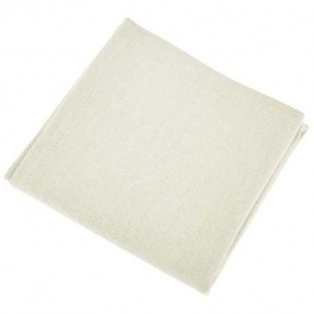 VENT DU SUD Lot de 12 serviettes de table Yuco - Ecru