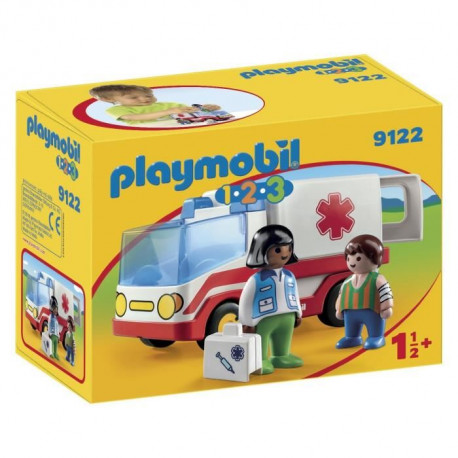 PLAYMOBIL 1.2.3. - 9122 - Ambulance