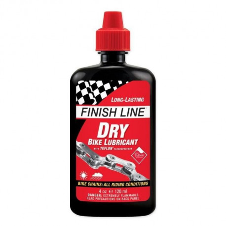 FINISH LINE Lubrifiant Dry Lube (Teflon Plus) - 4Oz - 120 ml