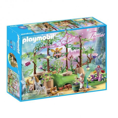 PLAYMOBIL 9132 - Fairies - Foret Enchantée