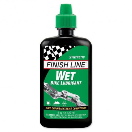 FINISH LINE Lubrifiant Wet Lube (Cross Country) - 4Oz - 120 ml