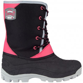 WINTER-GRIP Apres-ski - Enfant - Noir / Rose