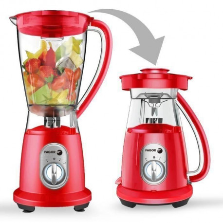 FAGOR FG2030 Blender - Rouge