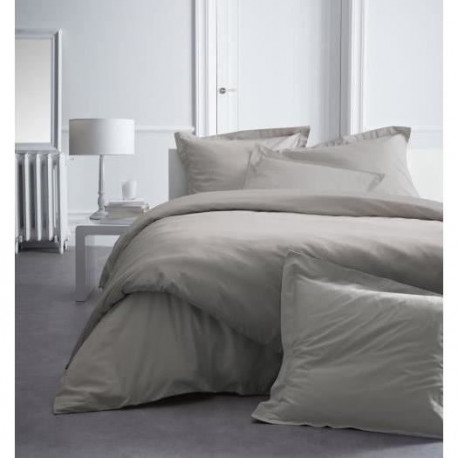 TODAY PREMIUM Drap housse Percale 160 MASTIC