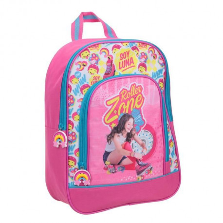 SOY LUNA Sac a dos loisirs LED 1 compartiment - Primaire ? Fille - Rose