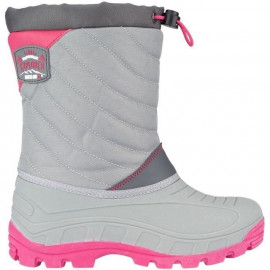 WINTER-GRIP Apres-ski - Enfant - Gris / Rose
