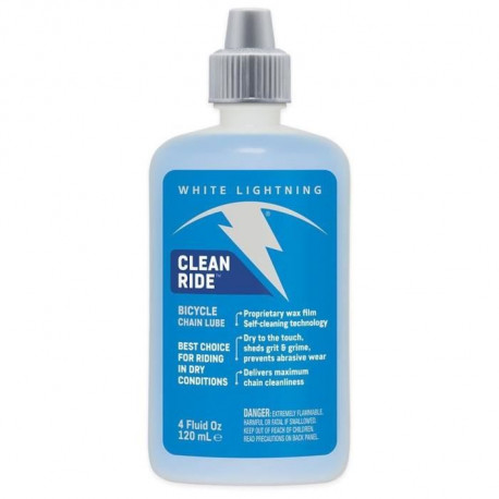 WHITE LIGHTNING Lubrifiant Clean Ride Lube 4Oz - 120ml