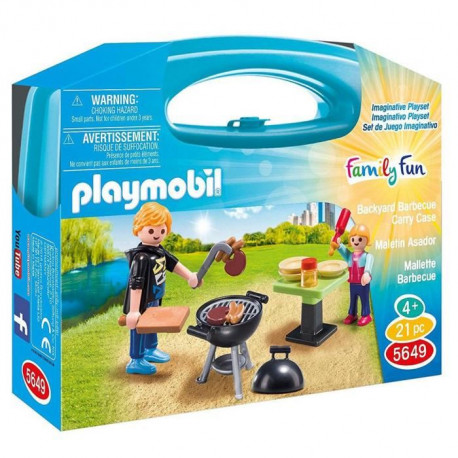 PLAYMOBIL 5649 Valisette barbecue