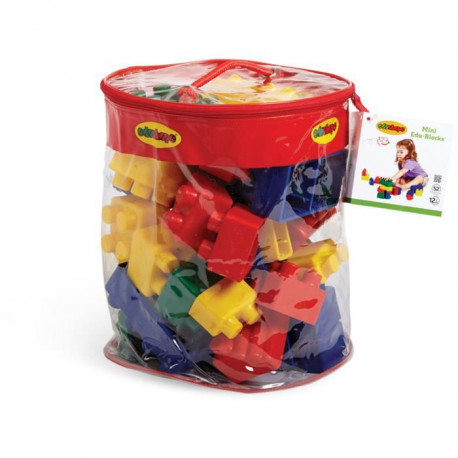 BSM Lot de 52 Pieces de construction Mini Edu Blocs
