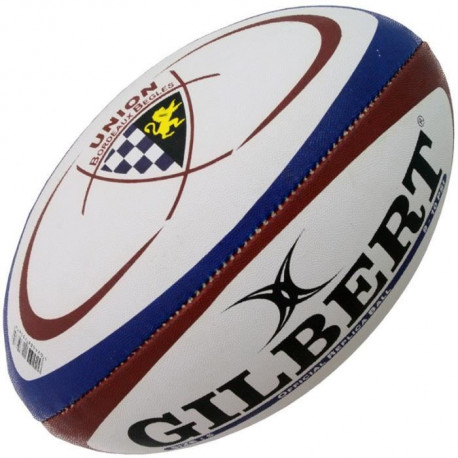 GILBERT Ballon de Rugby Begles Bordeaux RGB