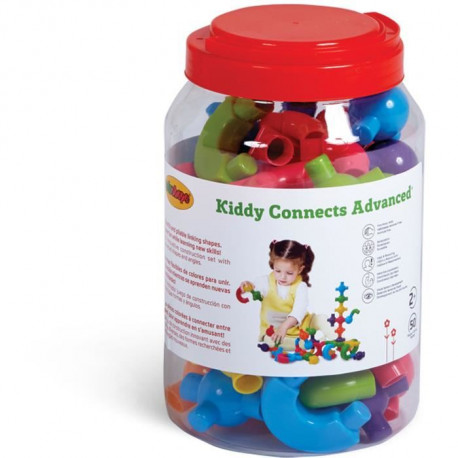 BSM Lot de 50 Eléments Kiddy Connect Advanced
