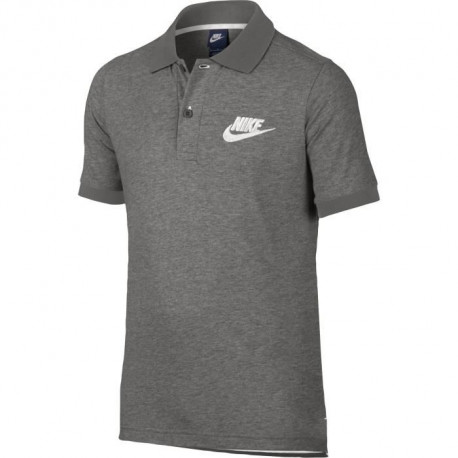 NIKE Polo Nsw Match up - Enfant - Gris