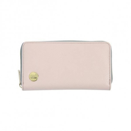 MIPAC Porte feuille zippe Tumbled Blush