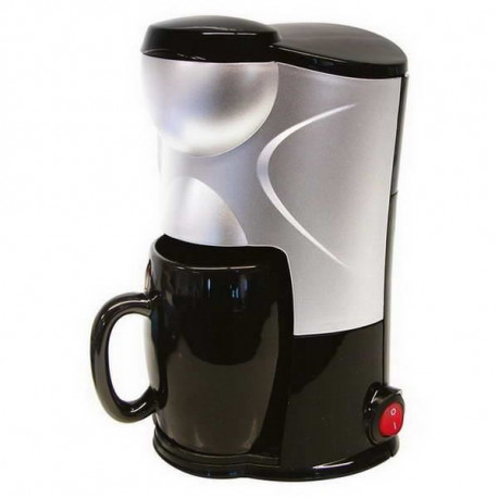 CARPOINT Cafetiere Just 4 you - 170W 12V - Gris et Noir