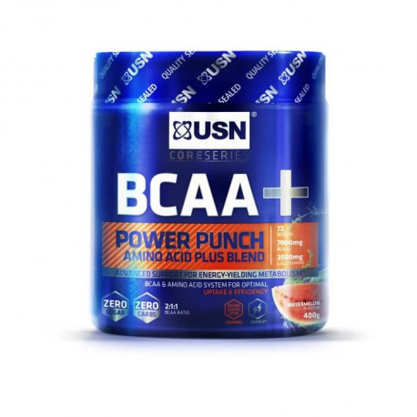 USN Acides Aminés Bcaa Power Punch Pasteque NTT