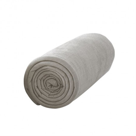 TODAY Drap Housse Jersey 140x190cm MASTIC