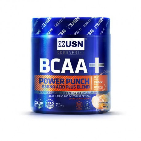 USN Acides Aminés Bcaa Power Punch Mandarine NTT