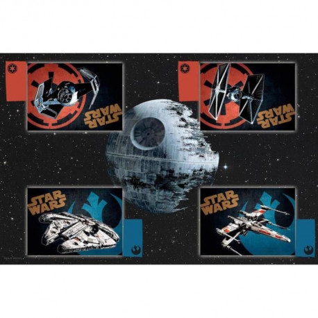 STAR WARS Nappe + set de table en tissu