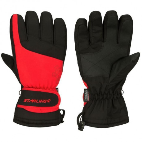 STARLING Gants de Ski Adulte - Rouge