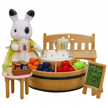 SYLVANIAN 4478 Bar a Jus de Fruits+Figurine