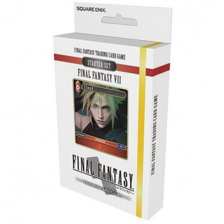 Jeu de cartes Final Fantasy Starter Set FFVII
