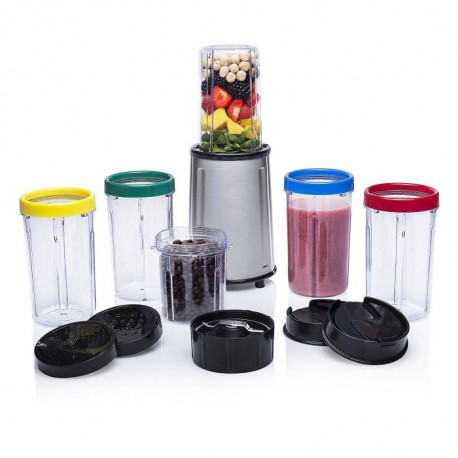 TRISTAR Set de 17 pieces Blender Corps inox
