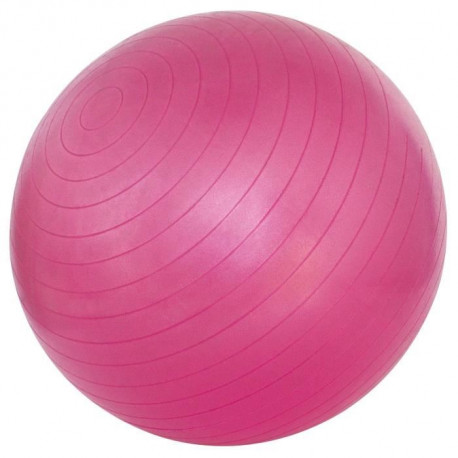 AVENTO Ballon de gym 75 cm - Rose