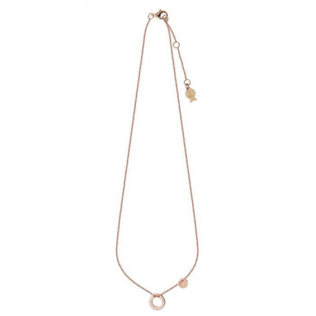 CLIO BLUE Collier Argent Doré Rose - CO2291R