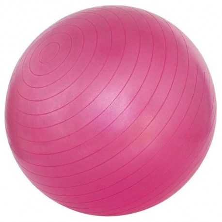 AVENTO Ballon de gym 55 cm - Rose