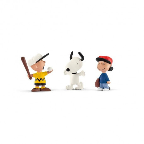 Schleich Figurine 22043 - Snoopy - Scenery Pack Baseball