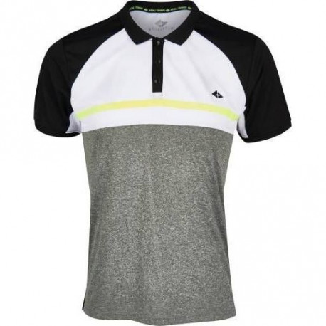 ATHLI-TECH Polo de tennis Eliaz - Homme - Gris anthracite