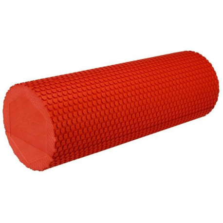 AVENTO Rouleau de massage yoga en mousse - Rouge