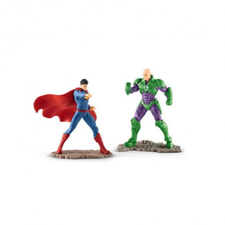 Schleich Figurine 22541 - Justice League - SUPERMAN? vs LEX LUTHOR?