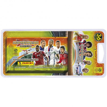PANINI FOOT 2017-2018 Blister de 6 Pochettes Cartes a Collectionner