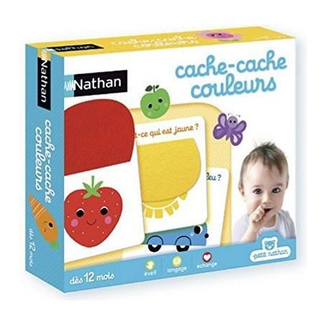 NATHAN - Cache-cache Couleurs