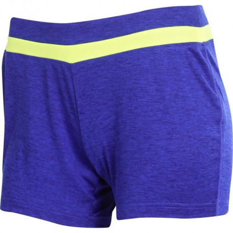 ATHLI-TECH Short  Rayana  Adulte Mixte Bleu Jaune