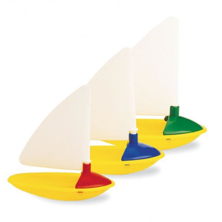 AMBI TOYS 3 Petits Voiliers